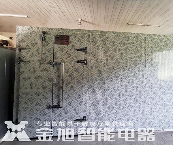 小型金丝黄菊空气源热泵烘干机烘干房
